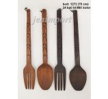 SPOON AND FORK 70 CM DECOR x 2 COLORS