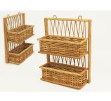 SHELF RATTAN NATURAL COLOR 41 CM -H-