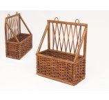 RATTAN SHELF BROWN 30 CM-H-