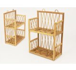 RATTAN SHELF NATURAL 36 CM-H-