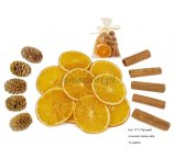 MIX POTPOURRI 70 g: CINNAMON, ORANGE SLICES AND MERIDIANUM