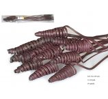 CANE CONE 40-45 CM DARK BROWN  12 PC / PB