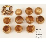 BEL CUP MINI GOLD 3-5cm -24 PC/PB