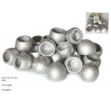 BEL CUP MEDIUM SILVER COLOR 3-5 CM 24 PC/PB