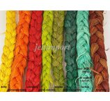 RAFFIA BRAID COLORED 250GR
