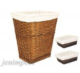 WILLOW BASKET BROWN +2 BASKETS FOR COSMETICS