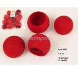 BEL CUP 5-7cm RED 12 PC/PB