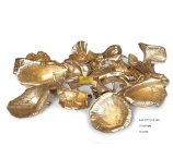 GOLDEN MUSHROOMS 4-8CM GOLD 24 PC/PACK