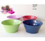 METAL BOWL 4 COLORS 19,5 CM sold out green