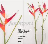 HELIKONIA 121 CM RED -FRESH TOUCH