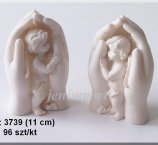 ANGELS STANDING IN HAND 11 CM -2 DESIGN/BOX