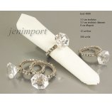 NAPKIN DIAMOND ACRYLIC RING 8 CM