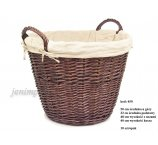 WILLOW BASKET FOR WOOD  50 CM