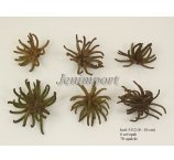 SPIDERGUM CLAWS 8-10 cm NATUR/OLIVE6 PC / PB