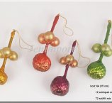 BALL FASCINE 15 CM 4 COLORS 12 PC/PB