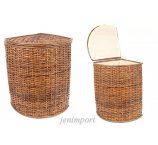 RATTAN HAMPER MEDIUM