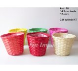 BAMBOO PLANTER COLOR 14,5 CM  DIAMETER natur color not available