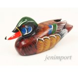 DUCK FROM EXOTIC WOOD 12 CM ( IT.NO: 2487 )