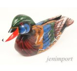 DUCK FROM EXOTIC WOOD 22 CM