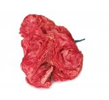 red color Rose made from dried magnolia leafs 7-8 cm