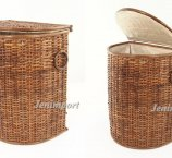 RATTAN HAMPER 54x46x33 cm MEDIUM